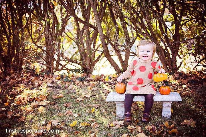baby girl smiling at camera