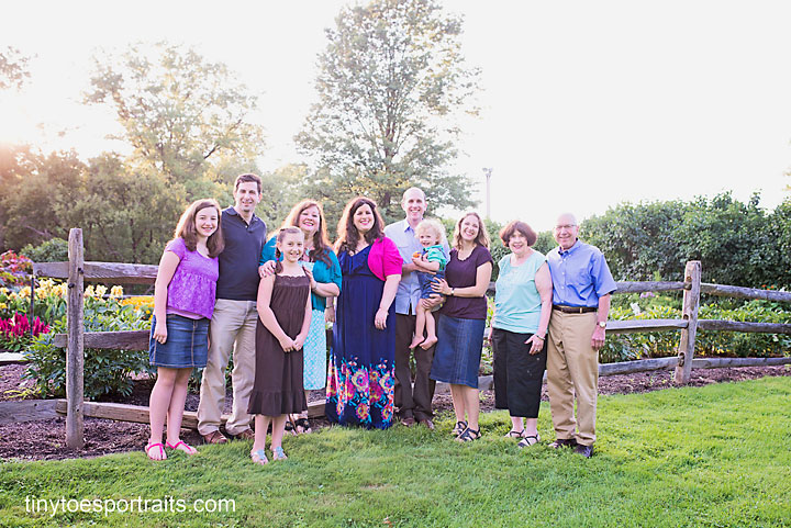 extended family posed