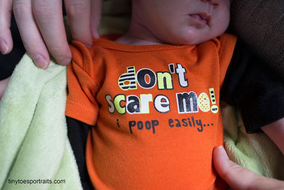 shirt of baby girl