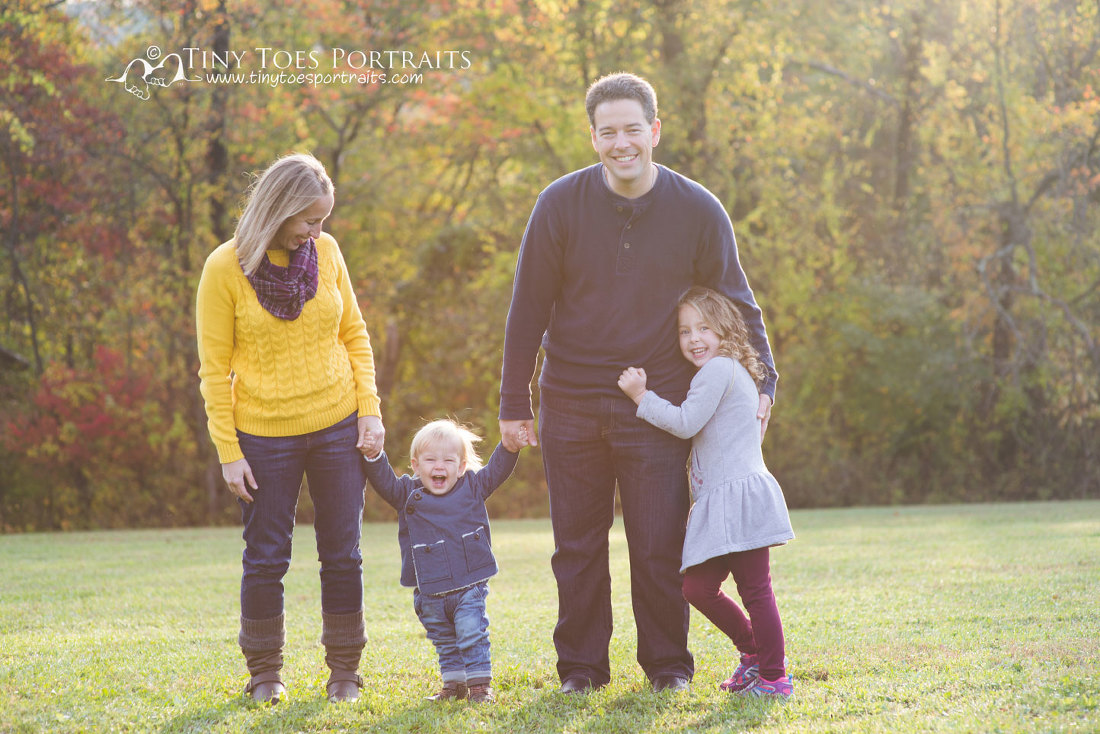 family photo at hartwood acres