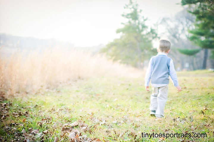 Natural Light Photography Session In Valley Forge Tiny