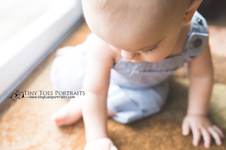 little boy's eyelashes