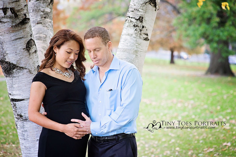 mom to be and dad